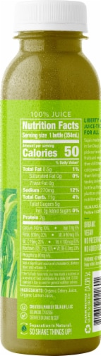 Suja Organic Celery Juice Drink Perspective: right