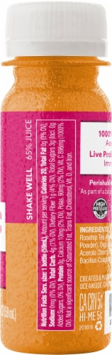 Suja Organic Vitamin C & Probiotics Juice Shot Perspective: right
