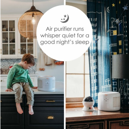 Crane HEPA Air Purifier Perspective: right