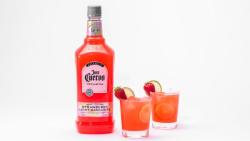 Jose Cuervo Strawberry Ready-To-Drink Margarita Perspective: right