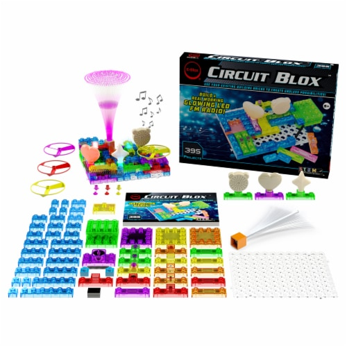 E-Blox Circuit Blox Building Set Perspective: right