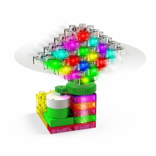 E-Blox Lights N' Motion LED Building Blocks Perspective: right