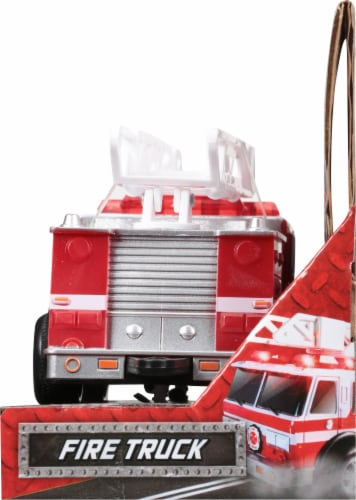 Maxx Action Rescue Fire Truck Perspective: right