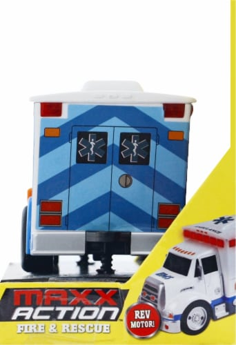 Maxx Action Rescue Ambulance Perspective: right