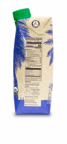 CocoGoods Co 100% Organic Coconut Water 33.8 fl. oz Perspective: right
