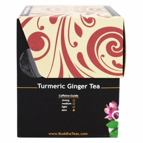 Buddha Teas Organic Turmeric Ginger Tea Perspective: right
