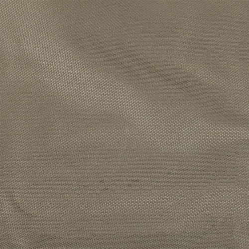 """Sunnydaze Log Hoop Cover for Firewood Polyester with PVC Backing - Khaki - 40"""" Perspective: right"""