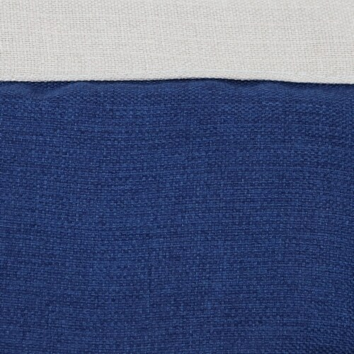 Sunnydaze Tufted Victorian Hammock Chair Swing - 300-Pound Limit - Navy Blue Perspective: right
