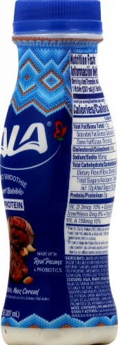 LaLa Pecan Cereal Probiotic Yogurt Smoothie Perspective: right