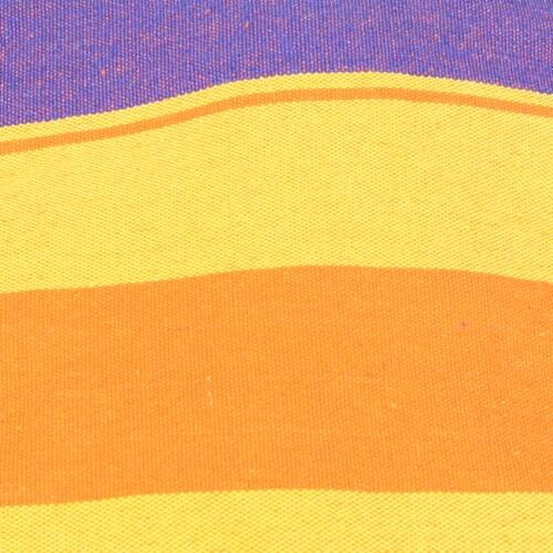 Sunnydaze Indoor-Outdoor Hammock Chair Swing and C-Stand Set - Summer Breeze Perspective: right