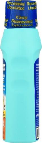 Mylanta® Vanilla Caramel Flavor Maximum Strength Antacid + Anti-Gas Liquid Perspective: right
