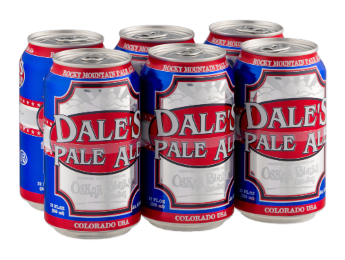 Oskar Blues Brewery Dales Pale Ale Perspective: right