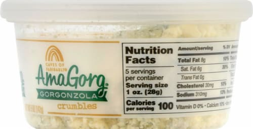 Amablu Gorgonzola Crumbles Perspective: right