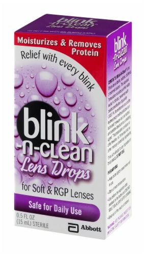 Blink-N-Clean Lens Drops Perspective: right