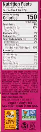 Bobo's Peanut Butter & Jelly Stuff'd Oat Bites Perspective: right