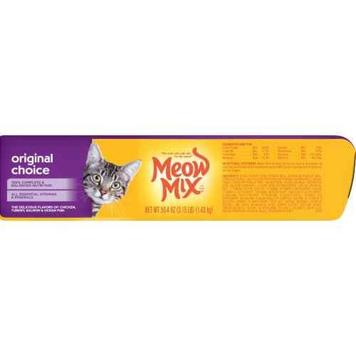 Meow Mix Original Choice Dry Cat Food Perspective: right