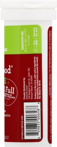 Amazing Grass Green Superfood Hydrate Watermelon Lime Effervescent Greens Tablets Perspective: right