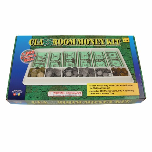 Learning Advantage™ Play Money Kit Perspective: right