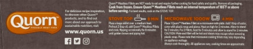 Quorn Meatless Fillets Perspective: right