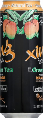 Xing Green Tea With Mango & Honey Perspective: right