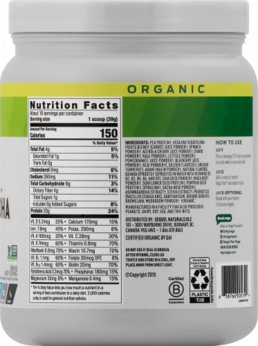 Vega Organic One Botanical Blends US Turmeric Coconut Perspective: right