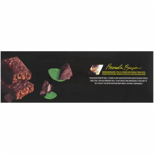 Vega Sport Crispy Mint Chocolate Protein Bar Perspective: right