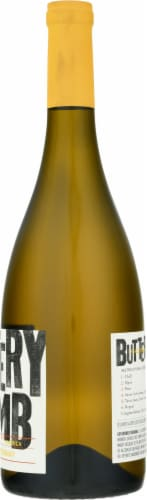 Buttery Bomb Chardonnay White Wine Perspective: right