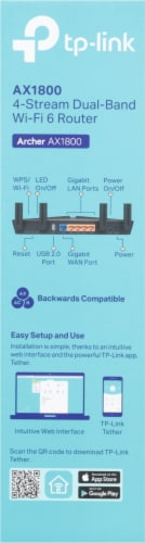 TP-Link Archer Dual Band Router Perspective: right
