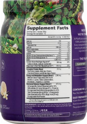 PlantFusion Inspire for Women Vanilla Protein Powder Perspective: right