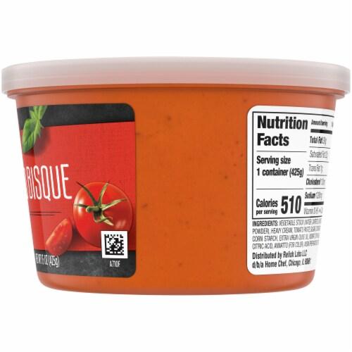 Home Chef Creamy Tomato Bisque Soup Perspective: right