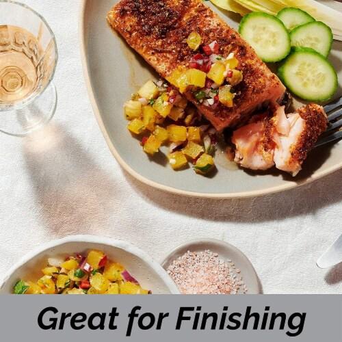 Salt 84 Pink Salt, Coarse Salt for Baking, Cooking & Seasoning | Pack of 6 – 1lbs Each Perspective: right