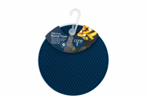 Core Home Round Silicone Trivet - Assorted Perspective: right