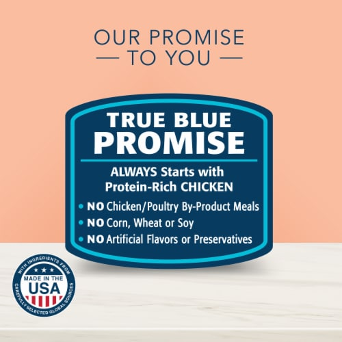 Blue Buffalo True Solutions Fit and Healthy Adult Wet Cat Food Perspective: right