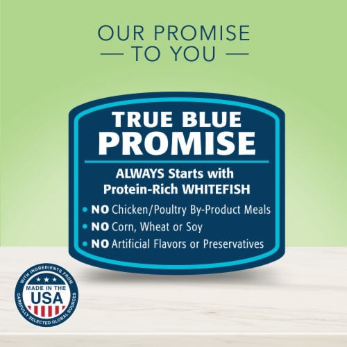 Blue Buffalo True Solutions Perfect Coat Whitefish Adult Wet Cat Food Perspective: right