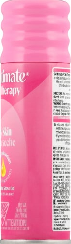 Skintimate Skin Therapy Dry Skin Moisturizing Shave Gel with Vitamin E Perspective: right
