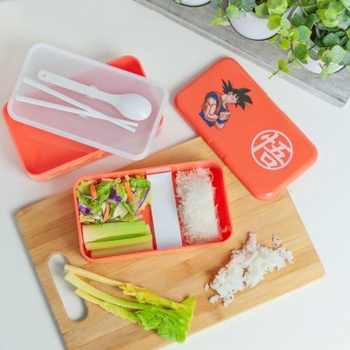 Dragon Ball Z Goku Bento Box w/ Chopsticks & Spoon Perspective: right