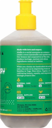 Alaffia Everyday Shea Peppermint Tingle Hand Soap Perspective: right