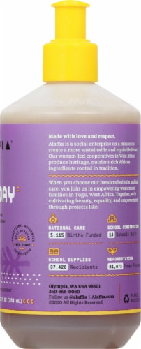 Alaffia Everyday Shea Lavender Spice Hand Soap Perspective: right