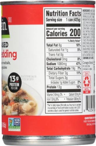 Gardein Vegan Plant-Based Meatball Italian Wedding Soup Perspective: right