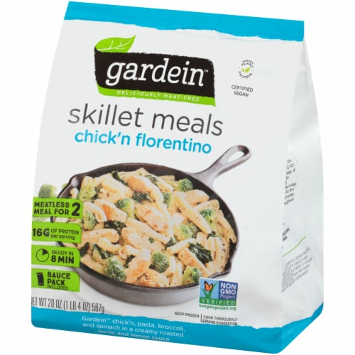 Gardein Meatless Chick'n Florentino Skillet Meals Perspective: right