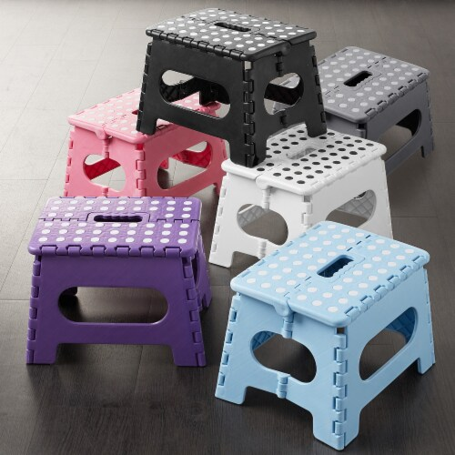 """9"""" Folding Step Stool with Handle by Casafield Perspective: right"""