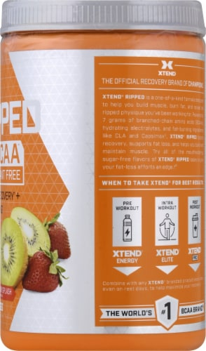 Scivation  XTEND Ripped Strawberry Kiwi Perspective: right