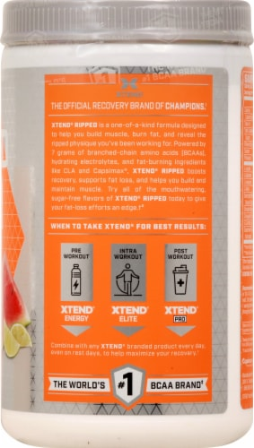 Scivation  XTEND® Ripped   Watermelon Lime Perspective: right