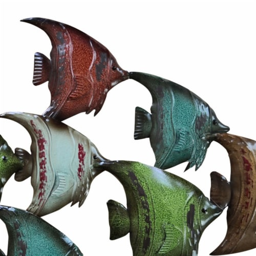 Three Dimensional Hanging Fish Wall Decor Perspective: right