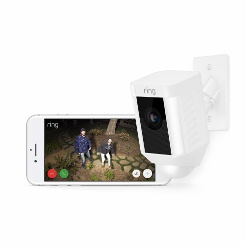 Ring™ Spotlight Camera Mount Security Camera - White Perspective: right