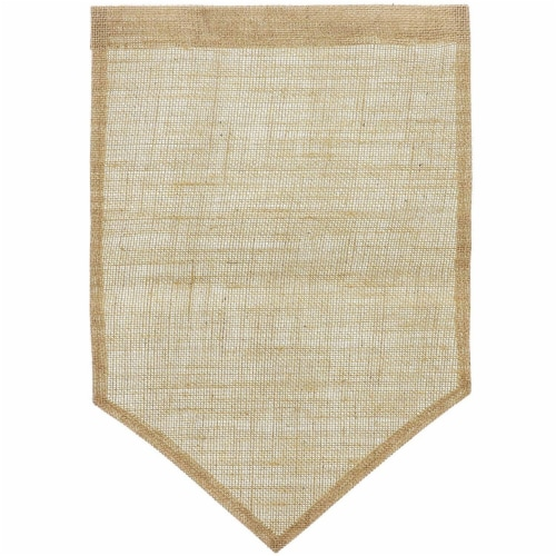 Juvale Blank Burlap Garden Flag (17.7 x 11.8 Inches, 6-Pack) Perspective: right