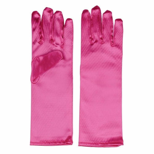 Juvale Princess Gloves for Little Girls Dress Up (4 Pairs) Perspective: right