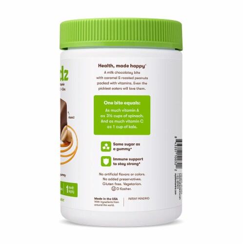 MyBite Vitamins Multi Kidz Milk Chocolate Complete Multivitamin Bites Perspective: right