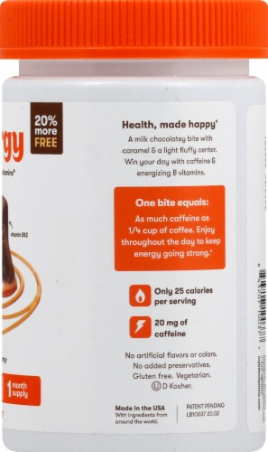 MyBite Vitamins Energy Dietary Supplement Perspective: right