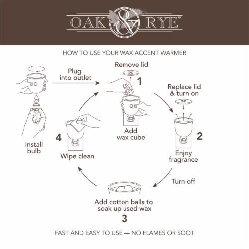 Oak & Rye Plug-In Jack O'Lantern Wax Warmer Perspective: right